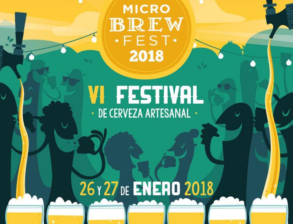 Está llegando la VI edición del Micro Brew Fest